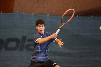 TE under 16 Mestre: Pietro Grassi out in the quarterfinals.