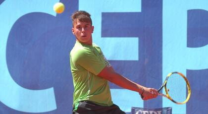 ITF Junior Megrine: De Rossi won the doubles title.