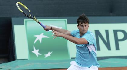ITF Junior Corfu: De Rossi and Bertuccioli debut ok.