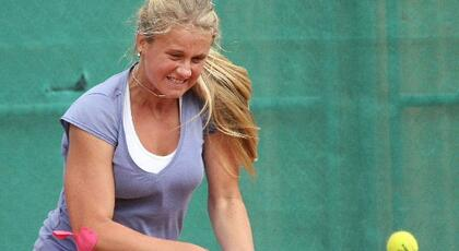 ITF Koksjide: super debut for Sofiya Kovalets.