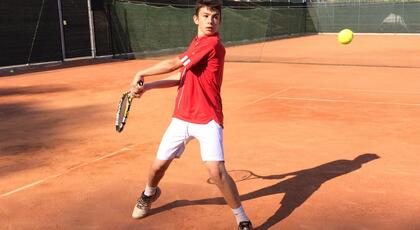 Junior Slovenia Open: Sforza ousted by Sedlar (#2).