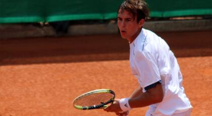 ITF Futures Pula: De Rossi defeated by Grimolizzi.