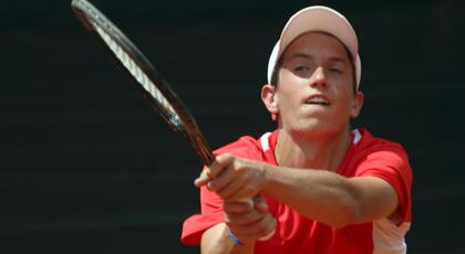 ITF Junior Oberpullendorf: debut ok for Federico Bertuccioli.