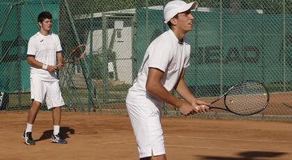 ITF Junior Otocec ob Krki: Bertuccioli and Stramigioli in the final in doubles.