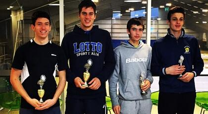 ITF Junior Oslo (doubles): Federico Bertuccioli wins the title.