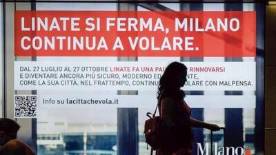 Linate si ferma, Milano continua a volare