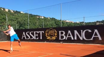 ASSET BANCA Junior Open: De Rossi soffre ma passa agli ottavi.
