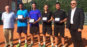 ASSET BANCA Junior Open: De Rossi e Bertuccioli ancora campioni.