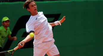 ITF Futures in El Kantaoui: De Rossi out at debut.