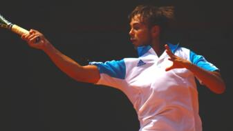 In Egypt, De Rossi flies to the second round and enters into the ATP Rankings!