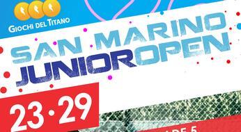 San Marino Junior Open: al via la quinta edizione.