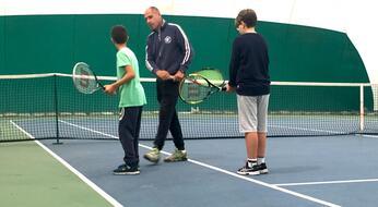 Parte col piede giusto la nuova Scuola Federale Tennis.