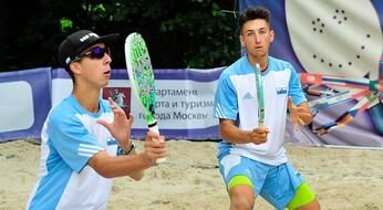 BEACH TENNIS: Bombini e Galli si fermano ai quarti in Olanda.
