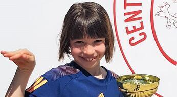 Talita Giardi è campionessa Macroarea Under 10.