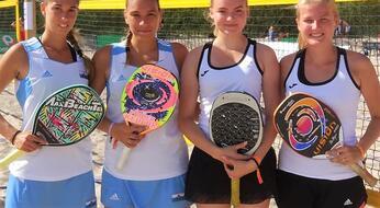 Campionati Europei di beach tennis: alti e bassi per i titani nella prima giornata.