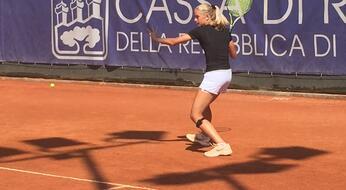 San Marino Junior Open: Federica Trevisan vola in semifinale.