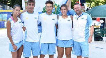 Mondiali a squadre di beach tennis: San Marino chiude al 6° posto.