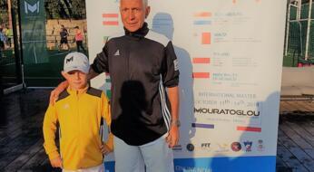 Dennis Spircu in grande evidenza al Master Kinder + Sport.