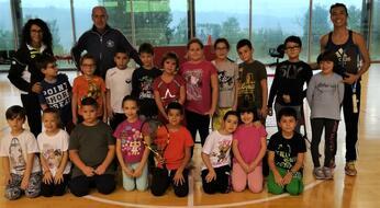 Primo appuntamento per promuovere il tennis nelle scuole.
