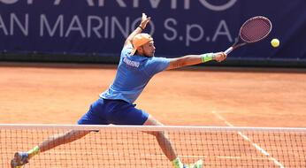 ITF Futures de Il Cairo: De Rossi lotta ma cede a Moundir.