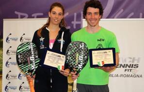 Beach Tennis: Alice Grandi campionessa italiana di doppio misto.