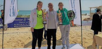 Beach Tennis: Grandi e Colonna trionfano all'ITF di Kelibia.