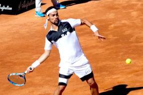 Fognini a San Marino, con vista sul Roland Garros.