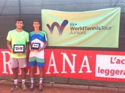 San Marino Junior Open: a Serafini e Popa i titoli di singolare.