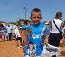 Dennis Spircu è super, trionfa al Master U10 Kinder Trophy di Roma.