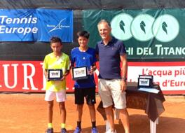 San Marino Junior Cup U12: i vincitori sono Aurora Nosei e Federico Cina.