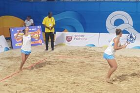 World Beach Games: Grandi e Colonna cedono alle italiane.