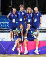 World Beach Games: rientrata a San Marino la nazionale di Pazzini.