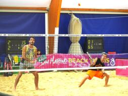 San Marino Beach Tennis Mastercup: Bombini - Carli accedono agli ottavi.