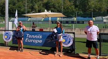 San Marino Junior Cup: Lettieri vince il titolo femminile, Bonding - Ducruet il doppio maschile