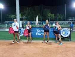 San Marino Junior Cup Under 16: il doppio femminile incorona Ghirardato e Zenato