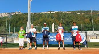 San Marino Junior Cup Under 16: Sciahbasi e De Michele trionfano nel doppio maschile