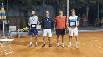 De Rossi sconfitto in finale all'Open del Circolo Tennis Cicconetti