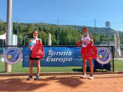 San Marino Junior Cup Under 16: vincono Emma Ottavia Ghirardato e Lorenzo Sciahbasi
