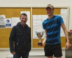 Jack Langley Chapman trionfa nel torneo di terza categoria del Villa Carpena