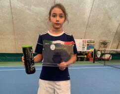 Serena Pellandra si aggiudica il torneo Under 10 al Baratoff di Pesaro