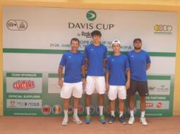 Coppa Davis: domani l'esordio dei titani contro il Kosovo