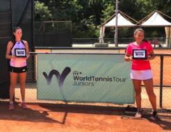 San Marino Junior Open: Dal Pozzo e Di Muzio campionesse in doppio.