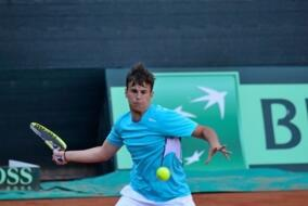 ITF Junior Kelibia: fantastic De Rossi, is final.