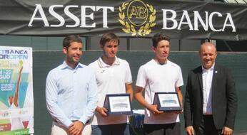 ASSET BANCA Junior Open: De Rossi e Bertuccioli trionfano in doppio.