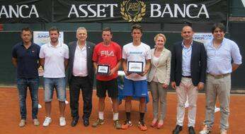 ASSET BANCA Junior Open: triumphs Corrado Summaria.