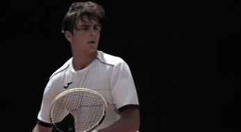 ITF Junior Tunis: De Rossi bows to the French Larriere (# 5).