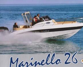 Marinello 26 evolution open Yamaha 200 cv