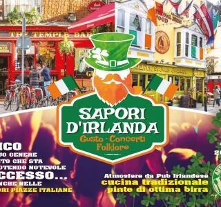 Cibo, beverage, musica, concerti e Folklore tassativamente Irlandese.
