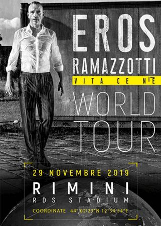 Eros Ramazzotti a Rimini!