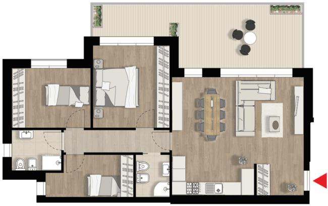 Appartamento D5